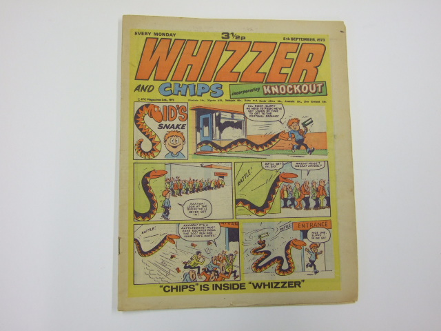 Whizzer and Chips incorporating Knockout 8th Sept 1973