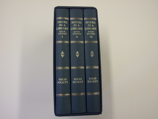 Hours In A Library (Three volumes in a slipcase)