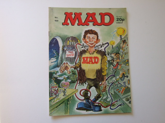 Mad Magazine UK Number 169