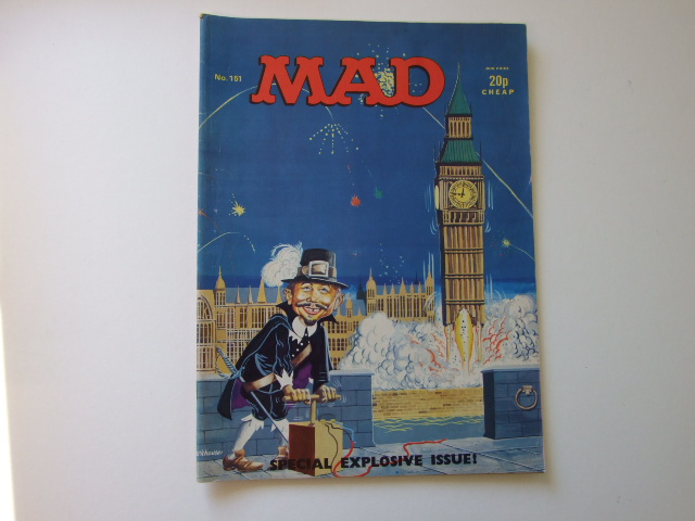 Mad Magazine UK Number 151