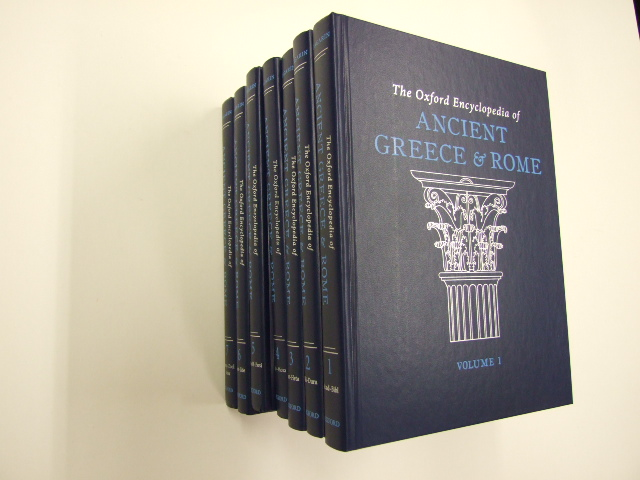 The Oxford Encyclopedia of Ancient Greece and Rome Seven Volume Set