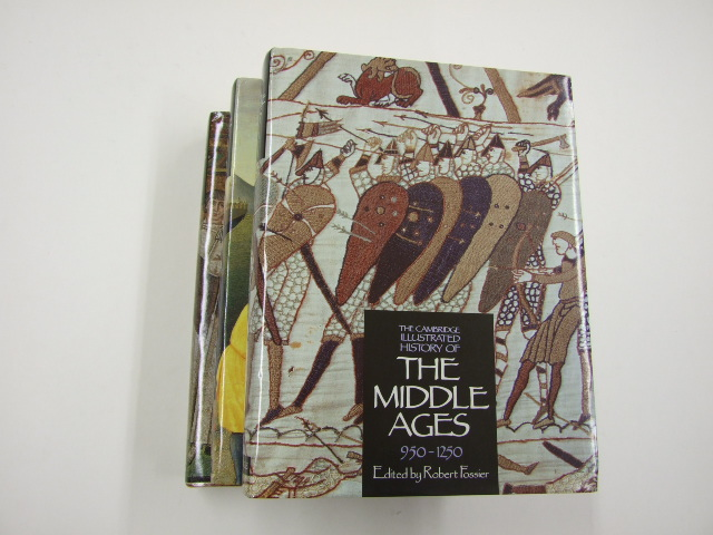 The Cambridge Illustrated History of the Middle Ages 3 Vols Vol 1 350-950, Vol 2 950-1250, Vol 3 1250-1520