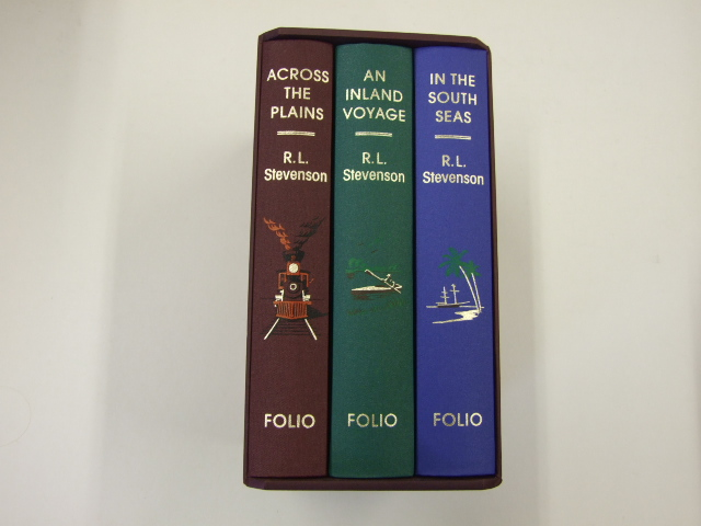 Travels - 3 Volume Boxed Set Comprising 'An Inland Voyage', 'Across the Plains', and 'In the South Seas'