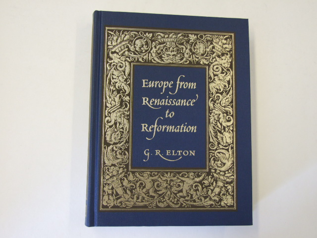 Europe from the Renaissance to Reformation