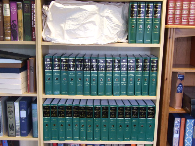 The Dictionary of Art - 34 volume set