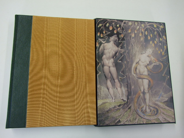 Paradise Lost A Poem in Twelve Books illustrated by William Blake