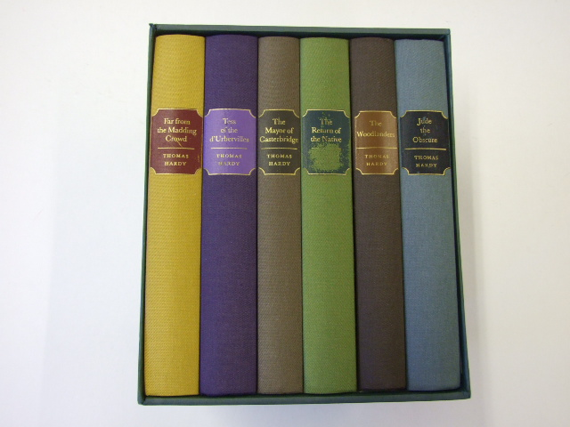 Tess of the d'Urbervilles ; Jude the Obscure ; The Return of the Native ; Far from the Madding Crowd ; The Mayor of Casterbridge ; The Woodlanders (6 book Boxed set)