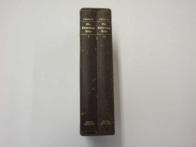 The Canterbury Tales in Two Volumes