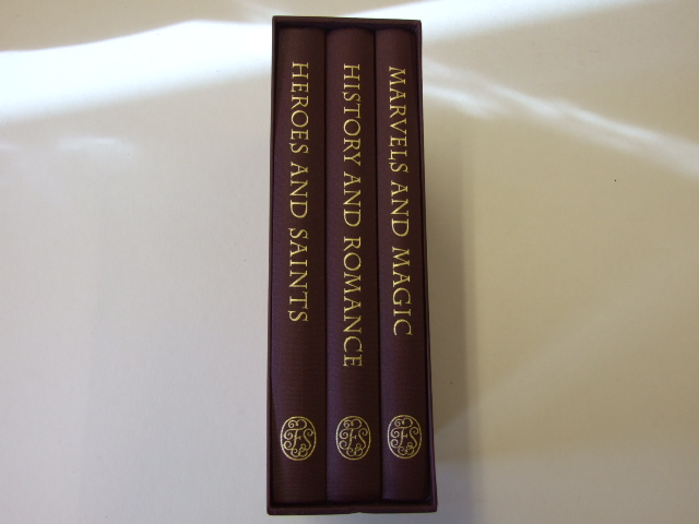 British Myths and Legends in 3 volumes [The Origins and the giants, Early history of Britain, Marvels and magic, Heroes and saints, History and romance]