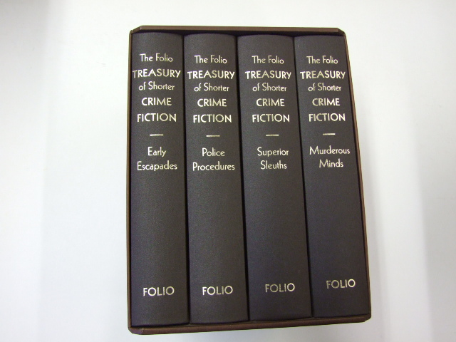 The Folio Treasury of Shorter Crime Fiction (4 Volume Set)