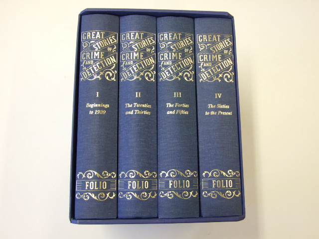 Great Stories of Crime and Detection -Beginnings to 1920; The Twenties and Thirties; The Forties and Fifties; The Sixties to the Present [four volumes]