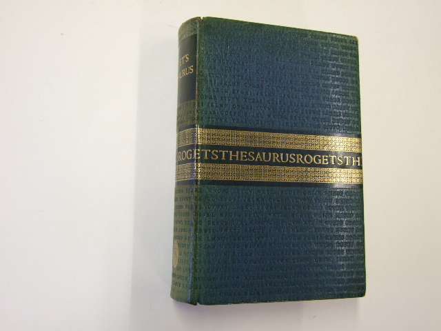 Roget's Thesaurus of English Words