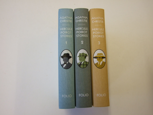 The Complete Hercule Poirot Short Stories Volumes 1,2,3