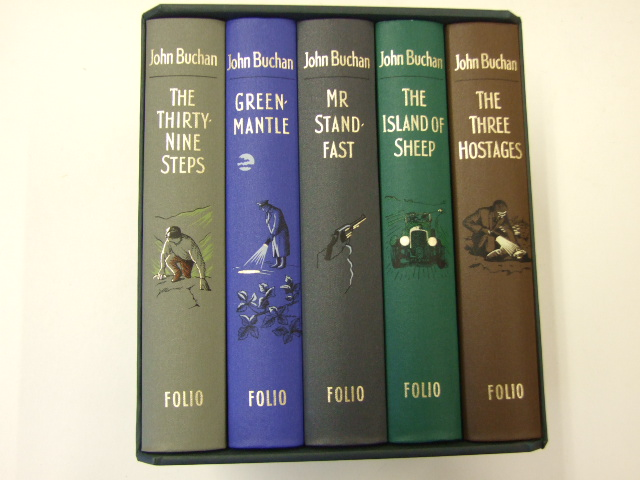 The Adventures of Richard Hannay - The Thirty Nine Steps; Greenmantle; Mr Standfast; The Three Hostages and The Island of Sheep