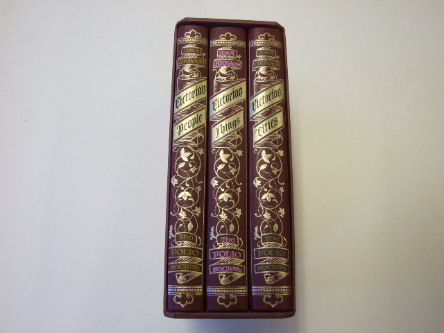 Victorian Trilogy Victorian Cities; Victorian Things; Victorian People Three Volumes
