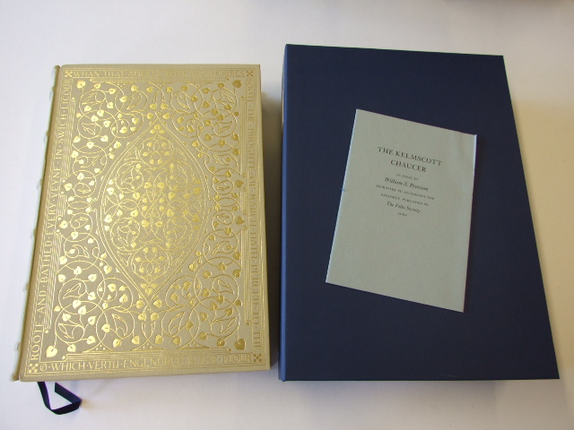 The Works of Geoffrey Chaucer now newly imprinted. Limited Edition Numbered Facsimile of the Kelmscott Press edition