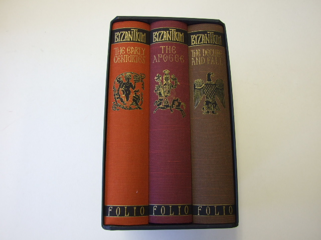 Byzantium: The Early Centuries, The Apogee and The Decline and Fall (3 volumes)