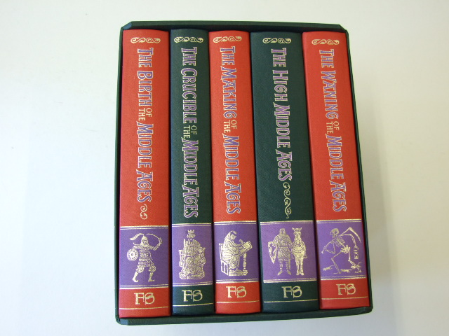The Story Of The Middle Ages 5 vols The Birth of the Middle Ages, by H.M.; The Crucible of the Middle Ages, by G.B.; The Making of the Middle Ages, by R.S.; The High Middle Ages, by J.M.; The Waning of the Middle Ages, by J.H.