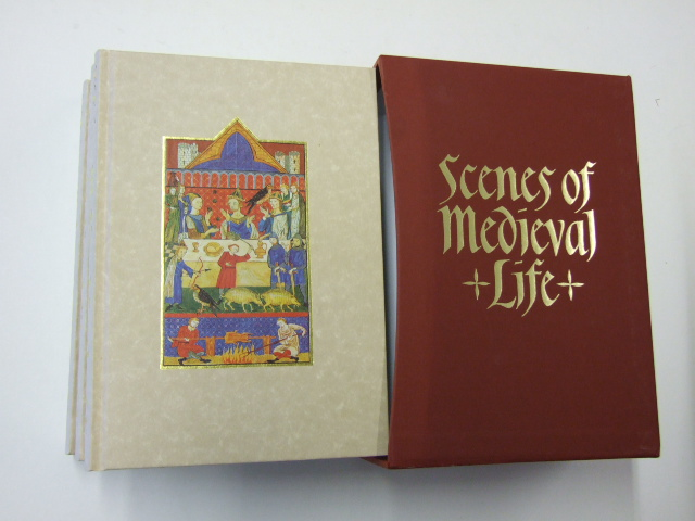 Scenes From Medieval Life 3 volumes in single slipcase; Life in a Medieval Castle; Life in a Medieval Village; Life in a Medieval City.