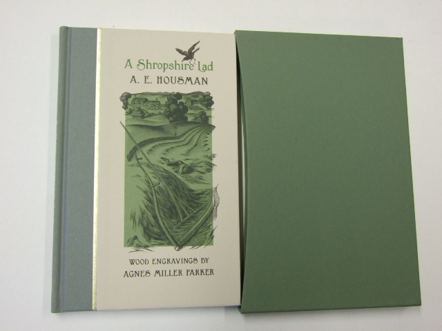 A Shropshire Lad illustrated by Agnes Miller Parker