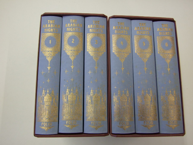 The Arabian Nights, The Book Of The Thousand Nights And One Night, Volumes 1-6