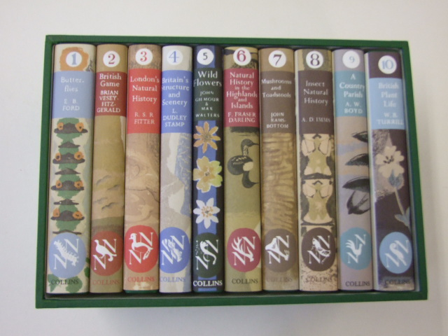 The New Naturalist Facsimiles Boxed Set Numbers 1-10