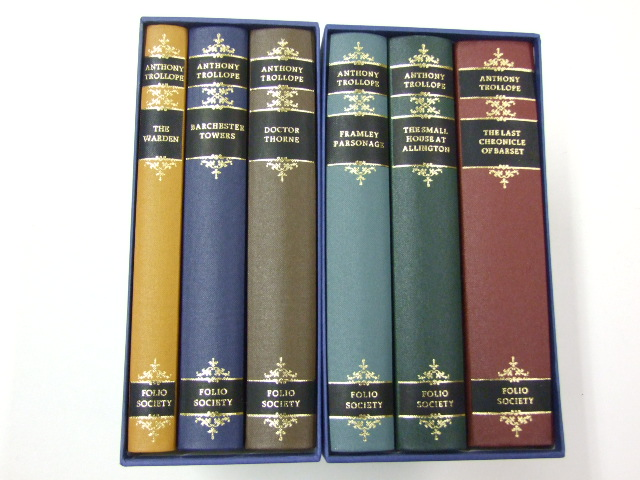 The Barsetshire Chronicles in Six Volumes The Warden, Barchester Towers, Doctor Thorne, Framley Parsonage, The Small House at Allington, Last Chronicle of Barset
