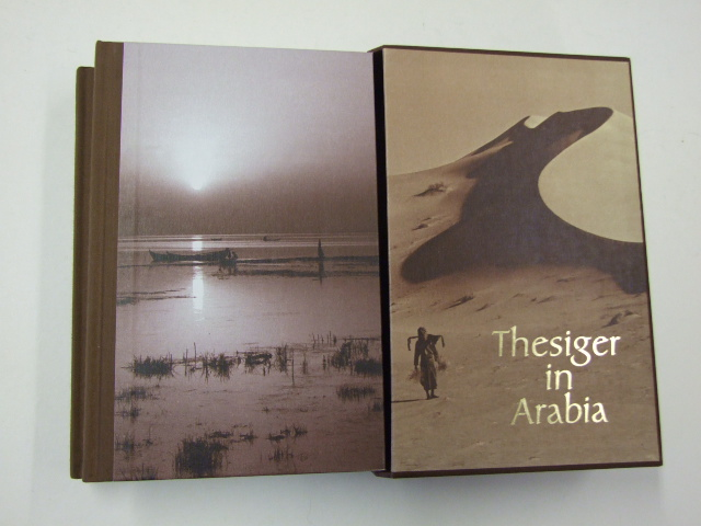 Thesiger in Arabia : Arabian sands and The marsh arabs