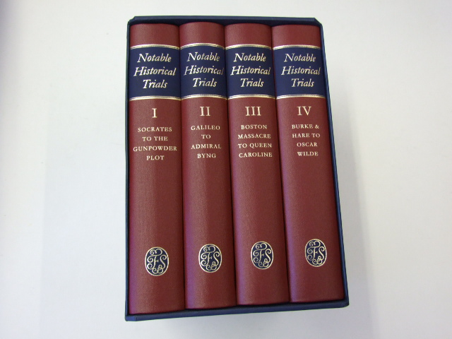Notable Historical Trials in Four Volumes (Complete)