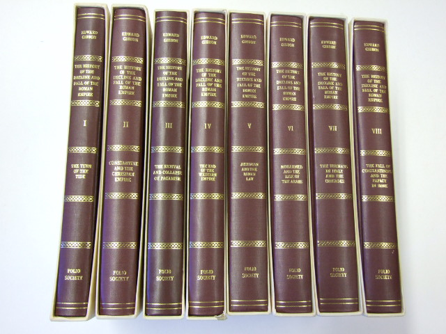 The History of the Decline and Fall of the Roman Empire - 8 Volumes