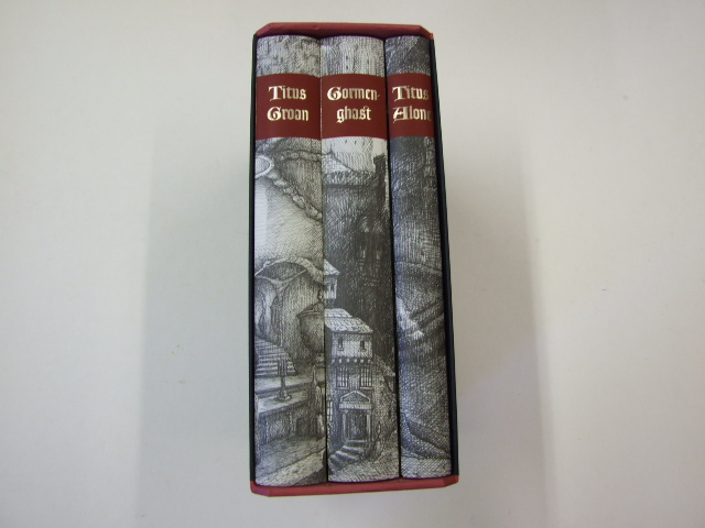 Gormenghast, Titus Alone, and Titus Groan