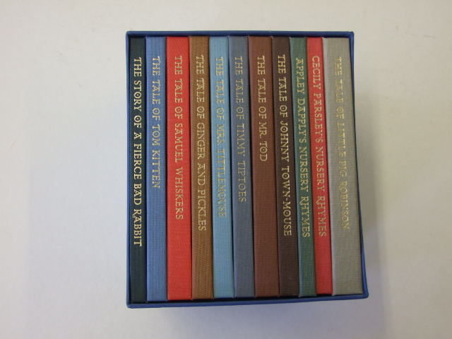 Tales Of Beatrix Potter 11 Volume Folio Society Set 2