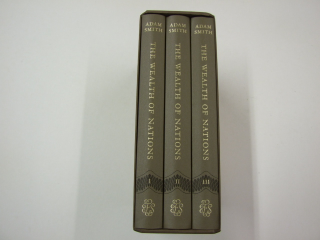An Inquiry into the Nature and Causes of The Wealth of Nations 3 vols