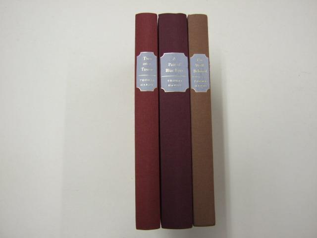 A Pair Of Blue Eyes; Two On A Tower ; The Well-beloved Three volumes in slipcase.