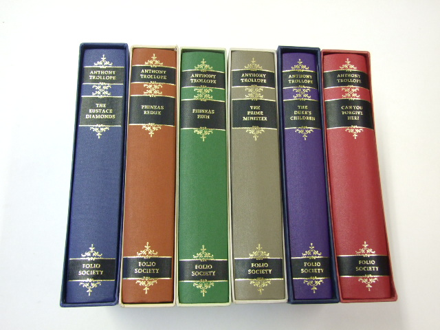 Trollope's Palliser Novels Volumes 1-6 Complete Can You Forgive Her?, The Eustace Diamonds, Phineas Finn, The Duke's Children, Phineas Redux, and The Prime Minister
