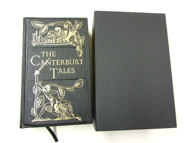 The Canterbury Tales Eric Gill engravings Limited Edition