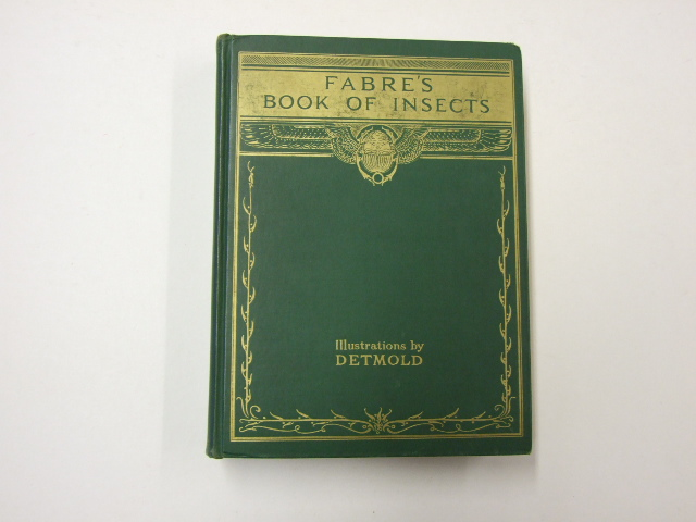 Fabre's Book of Insects illustrated by Detmold
