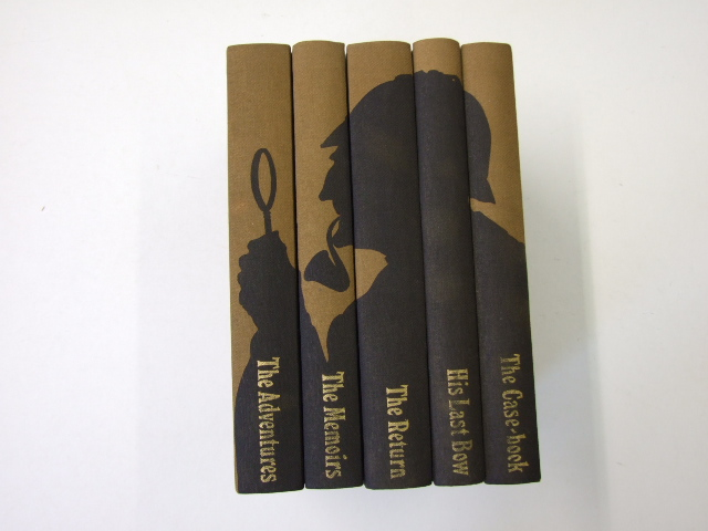 Sherlock Holmes Complete Short Stories The Adventures, The Memoirs, The Return, His Last Bow, The Case-Book 5 Volumes
